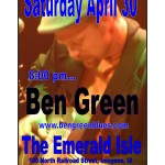 ben green april 30