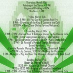 st pats schedule 2013 speakeasy