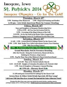 st pats schedule 2014